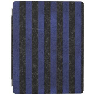 PROTECTION iPad STR1 BK-MRBL BL-LTHR