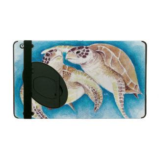 Protection iPad Tortues de mer