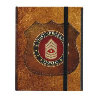 Protection iPad U.S. Marines : Premier sergent (usmc 1stSgt) [3D]