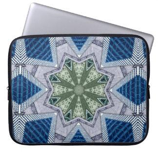 Protection Pour Ordinateur Portable Abrégé sur bleu et vert