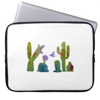 Protection Pour Ordinateur Portable Art de cactus