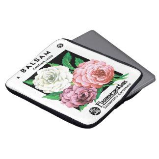 Protection Pour Ordinateur Portable Art vintage d'étiquette de paquet de graine,
