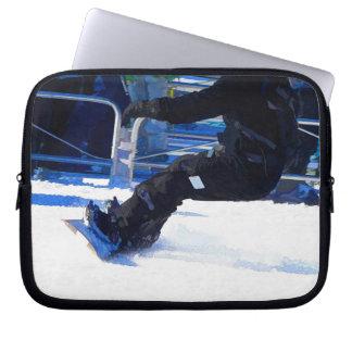 Protection Pour Ordinateur Portable Cadeau de ensabotage de sports d'hiver de surfeur
