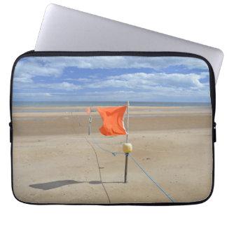 Protection Pour Ordinateur Portable Caisse d'ordinateur portable de drapeau de plage