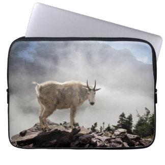 Protection Pour Ordinateur Portable Chèvre de montagne en parc national de glacier