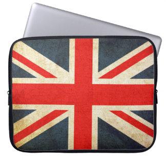 Protection Pour Ordinateur Portable Douille britannique vintage d'ordinateur portable