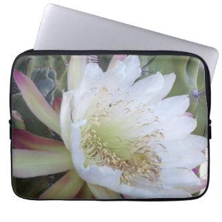 Protection Pour Ordinateur Portable Douille d'ordinateur portable avec la fleur de