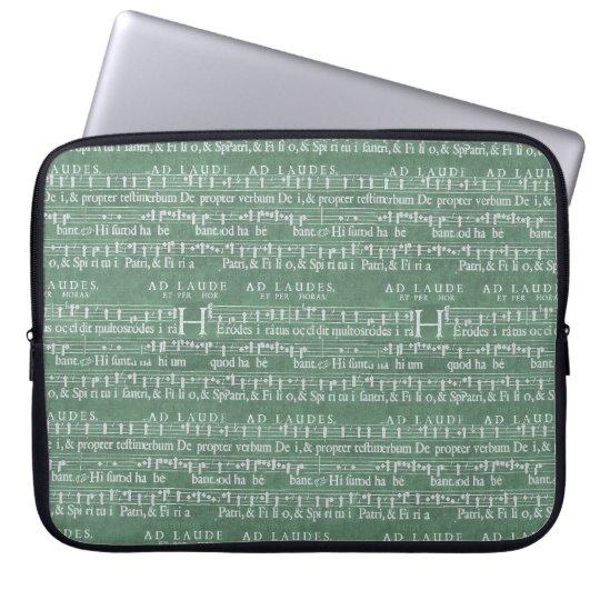 """Protection Pour Ordinateur Portable Douille médiévale 15"""" du néoprène de manuscrit de"""