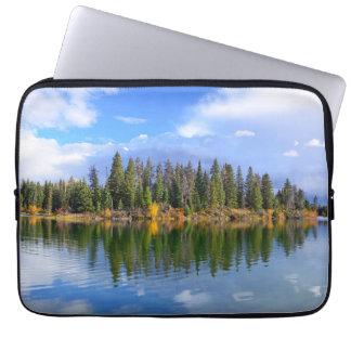 Protection Pour Ordinateur Portable Douille réfléchie d'ordinateur portable de paysage