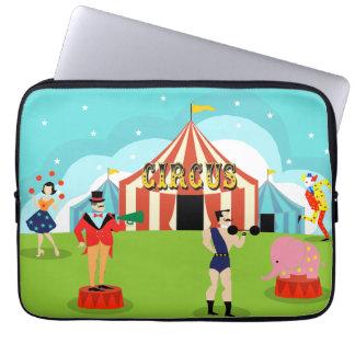 Protection Pour Ordinateur Portable Douille vintage d'ordinateur portable de cirque