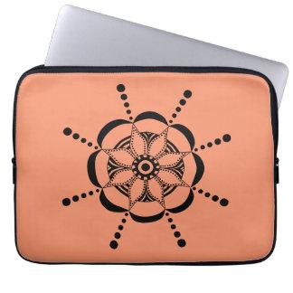 Protection Pour Ordinateur Portable Floral modelé
