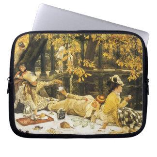 Protection Pour Ordinateur Portable Holyday, le pique-nique par James Tissot, art