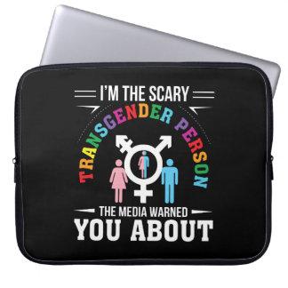 Protection Pour Ordinateur Portable Im les médias effrayants de personne de
