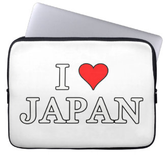 Protection Pour Ordinateur Portable J'aime le Japon