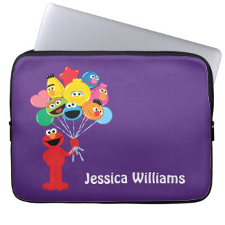 Protection Pour Ordinateur Portable Les ballons d'Elmo | ajoutent votre nom