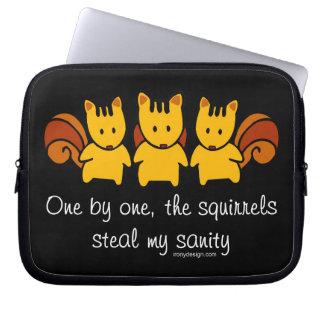 Protection Pour Ordinateur Portable Les écureuils volent ma santé d'esprit