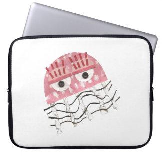 Protection Pour Ordinateur Portable Les méduses peignent la douille d'ordinateur