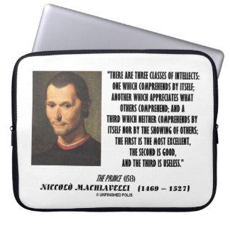 Protection Pour Ordinateur Portable Machiavel trois classes de citation d'intellects