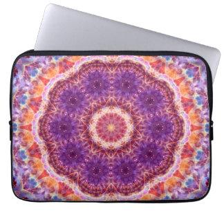 Protection Pour Ordinateur Portable Mandala cosmique de convergence