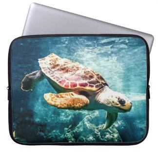Protection Pour Ordinateur Portable Mer merveilleuse de turquoise de la vie d'océan de