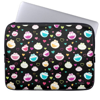 Protection Pour Ordinateur Portable Motif doux de coeur de substance d'Elmo et de