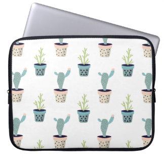 Protection Pour Ordinateur Portable Motif d'usine de cactus