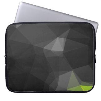 Protection Pour Ordinateur Portable Motif géométrique abstrait moderne - herbe de