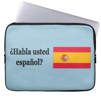 Protection Pour Ordinateur Portable Parlez-vous espagnol ? dans l'Espagnol. FB de
