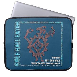 Protection Pour Ordinateur Portable Pétroglyphe de mangeur de boule de golf
