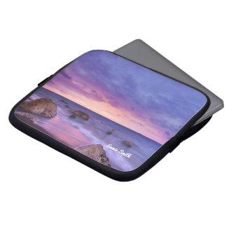 Protection Pour Ordinateur Portable Plage rocheuse à la douille d'ordinateur portable