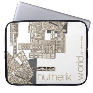 Protection Pour Ordinateur Portable Pochette ordinateur 15 pouces. Design agraffstudio