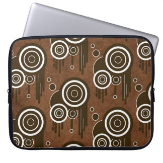 Protection Pour Ordinateur Portable Rétros cercles frais sur la douille d'ordinateur