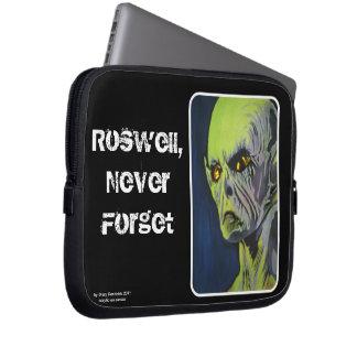 """Protection Pour Ordinateur Portable """"Roswell, n'oublient jamais"""" l'ordinateur"""