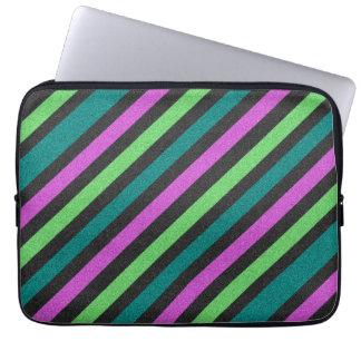 Protection Pour Ordinateur Portable Teal, vert de chaux, parties scintillantes STaylor