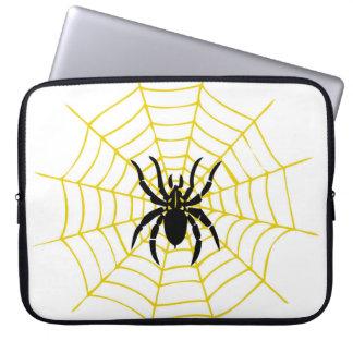 Protection Pour Ordinateur Portable Toile d'araignée d'araignée de douille