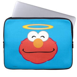 Protection Pour Ordinateur Portable Visage de sourire d'Elmo avec le halo