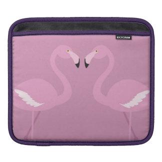 protection rose d'ipad d'amour de cygne poches iPad