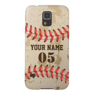 Protections Galaxy S5 Base-ball vintage frais clair