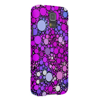 Protections Galaxy S5 Bulles pleines de punch, roses
