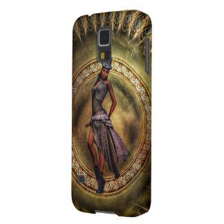 Protections Galaxy S5 Madame B de Steampunk d'imaginaire