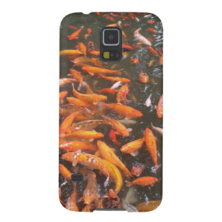 Protections Galaxy S5 Poissons oranges