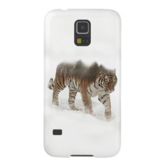 Protections Galaxy S5 Tigre-Tigre-double exposition-faune sibérienne