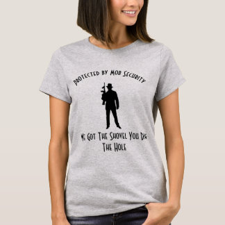 Protégé par sécurité de foule t-shirt