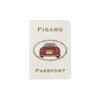 Protège-passeport Couverture rouge de passeport de voiture de Nissan
