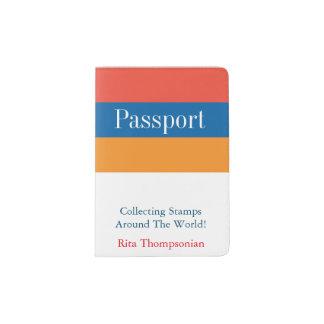 Protège-passeport L'Arménien colore le support de passeport de |