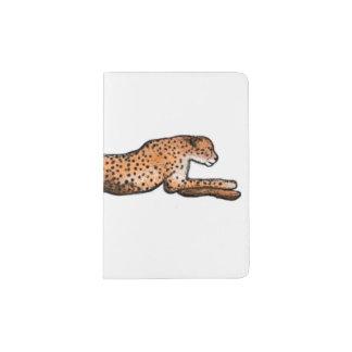 Protège-passeport Support courant de passeport d'art de guépard