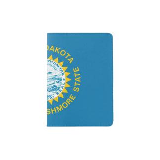 Protège-passeport Support de passeport de drapeau d'état, le Dakota