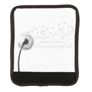 Protège Poignée Pour Bagage Enveloppe de poignée de bagage d'inspiration de