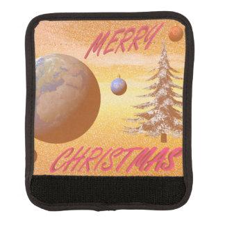 Protège Poignée Pour Bagage Joyeux Noël du monde
