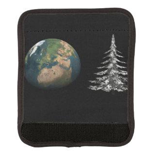 Protège Poignée Pour Bagage Noël du monde et arbre de sapin
